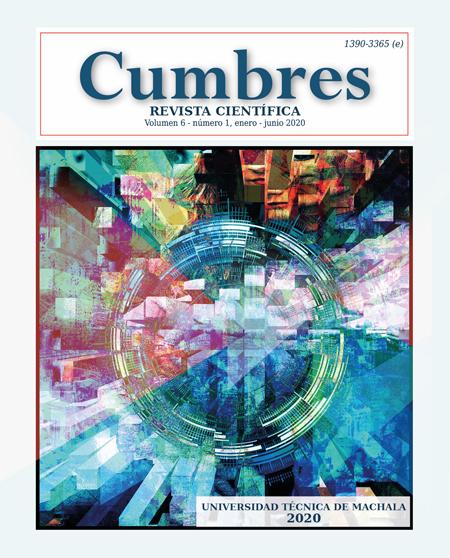 Ver Vol. 6 Núm. 1 (2020): Cumbres, enero-junio